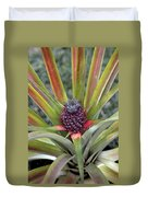 Pineapple, Oahu Duvet Cover