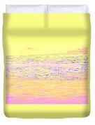 Pineapple Sunset Duvet Cover