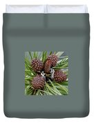 Pinecone Rock 1 Duvet Cover