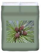Pinecone Tull Duvet Cover