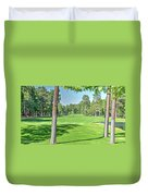 Pinetop Country Club - Hole #18 - Photos Duvet Cover
