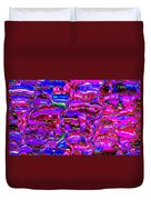 Pink Abstract Duvet Cover
