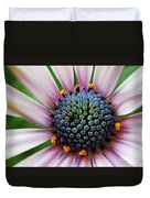Pink African Daisy Detail Duvet Cover