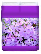 Pink And Purple Spring Duvet Cover