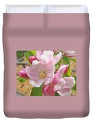 Pink Apple Blossoms Art Prints Spring Trees Baslee Troutman Duvet Cover