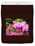 Pink Azalea Flowers Landscape 11 Art Prints Canvas Artwork Framed Art Cards Duvet Cover