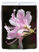 Pink Azalea Macro Duvet Cover