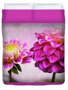 Pink Beauties Duvet Cover