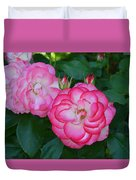 Pink Beauty Duvet Cover