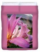 Pink Beauty Duvet Cover