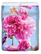 Pink Bellos Duvet Cover