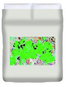 Pink Bevy Of Beauties On A Sunny Day Color Invert Duvet Cover