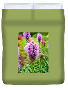 Purple Blazing Star 01 Duvet Cover