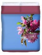 Pink Bloom Duvet Cover