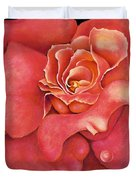 Pink Blush Duvet Cover