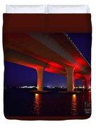 Pink Bridge 2 Duvet Cover