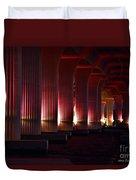 Pink Bridge  Duvet Cover