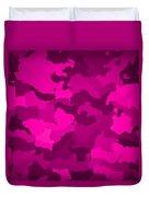 Pink Camo  Duvet Cover