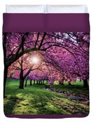 Pink Canopy Duvet Cover