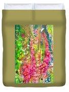 Pink Cascade Duvet Cover