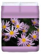 Pink Clara Curtis Daisy Chrysanthemum Duvet Cover
