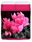Pink Cyclamen 2  Duvet Cover