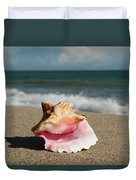 Pink Conch  Duvet Cover