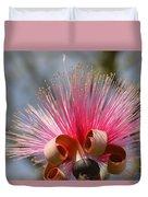 Pink Crown Duvet Cover