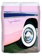Pink Desoto Fireflite Duvet Cover