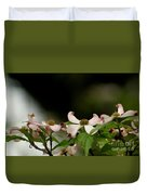 New Orleans Pink Dogwood Equinox Duvet Cover