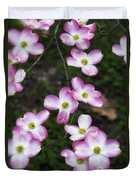 Pink Dogwood Mo Bot Garden Dsc01756 Duvet Cover