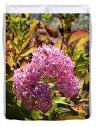 Pink Flower Duvet Cover