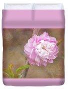 Dwarf Flowering Almond Romantic Floral Duvet Cover