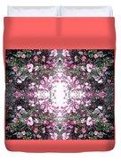 Pink Flower Sky Window Duvet Cover