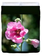 Pink Flower Duvet Cover by Yew Kwang