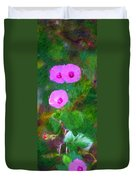 Pink Flowers 102310 Duvet Cover