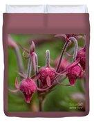 Pink Fuzz 3 - Square Duvet Cover