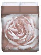 Pink Garden Rose Duvet Cover