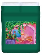 Pink Home Duvet Cover