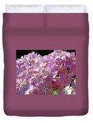 Pink Hydrangea Flower Floral Art Prints Baslee Troutman Duvet Cover
