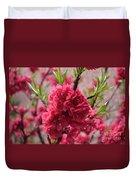 Pink In Bloom Duvet Cover