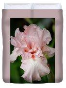 Pink Iris Study 15 Duvet Cover