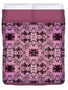 Pink Lace Duvet Cover