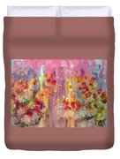 Pink Ladies Duvet Cover