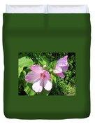 Pink Marsh Mallow Wildflower Duvet Cover