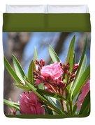 Pink Oleander IIi Duvet Cover