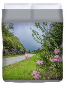 Pink On The Parkway Duvet Cover