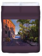 Pink Palazzo Duvet Cover