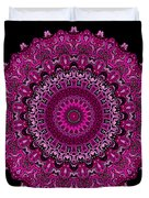 Pink Passion No. 7 Mandala Duvet Cover