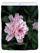Pink Peone Duvet Cover